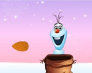 Olaf catching nuts online